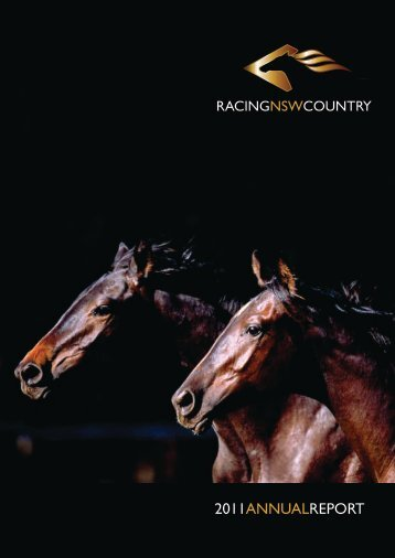 2011 REPORT ANNUAL - Racing NSW