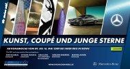 kuNst, COupé uNd juNgE stERNE - Artpromotion Bonn