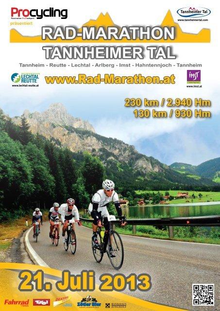 Ausschreibung 2013 - Rad-Marathon Tannheim
