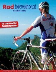 Ihr individueller Radreisepartner - Rad International