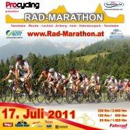 17. Juli 2011 - Rad-Marathon Tannheim