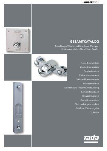 GESAMTKATALOG - Rada Armaturen GmbH