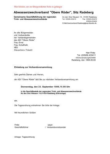 Abwasserzweckverband - Familie Spiegel in Radeberg