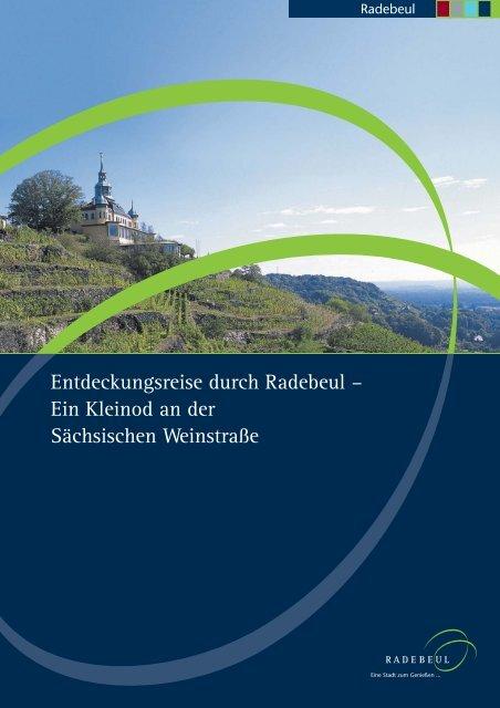 Informationsbroschüre Radebeul -deutsch