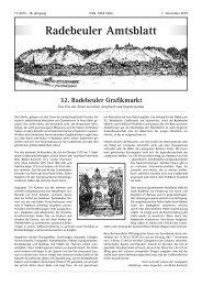 Amtsblatt November 2010 - Radebeul