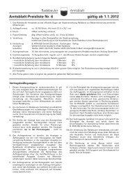 Amtsblatt-Preisliste Nr. 6 gültig ab 1.1.2012 - Radebeul
