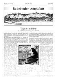Amtsblatt Mai 2010 - Radebeul
