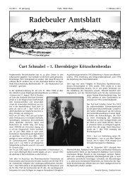 Amtsblatt Oktober 2011 - Radebeul