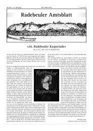 Amtsblatt Juni 2013 - Radebeul