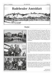 Amtsblatt Juli 2013 - Radebeul