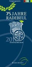 Das Festprogramm - Radebeul