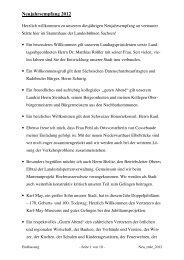 Neujahrsrede 2012 - Radebeul
