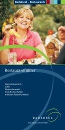 Restaurantführer 2010 - Radebeul