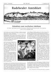 Amtsblatt September 2010 - Radebeul