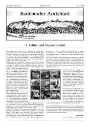 Amtsblatt - Radebeul