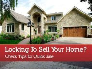 Tips to Sell Home in Calgary