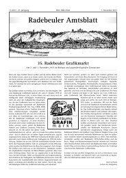Amtsblatt November 2013 - Radebeul