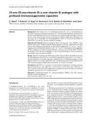22-ene-25-oxa-vitamin D: a new vitamin D analogue with profound ...