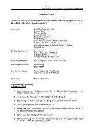 Niederschrift der 20. Sitzung vom 08.03.2004 - Stadt Radevormwald