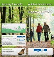 Geführtes Wandern in und um Radevormwald Rita Brennecke