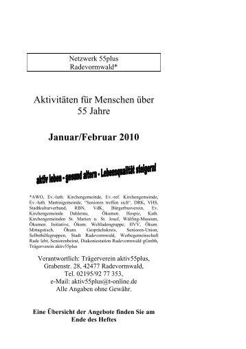 Januar/Februar 2010 - Stadt Radevormwald