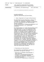 Download des Leistungsverzeichnisses - Stadt Radevormwald