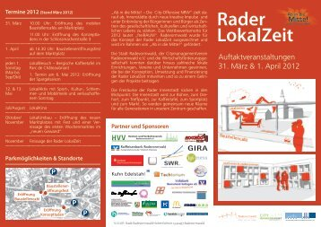 Flyer - Stadt Radevormwald