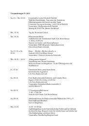Veranstaltungen IV-2011 Sa., 01. - Mo. 03.10. Erntedankfest in der ...
