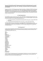 Satzung zur Abänderung der Fristen bei der Dichtheitsprüfung von ...
