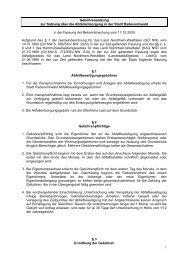 Gebührensatzung zur Satzung über die Abfallentsorgung in der ...
