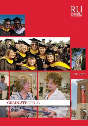Graduate 2011-2012 - Radford University
