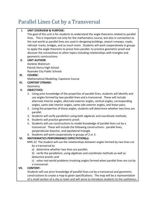 Pre Assessment Answer Key