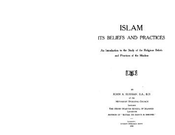 Islam Its Belief and Practices - Radical Truth