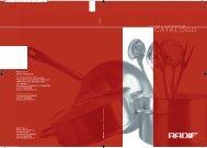 Catalogo cucina - Radif