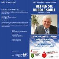 Helfen Sie Rudolf Soult - Radio Galaxy