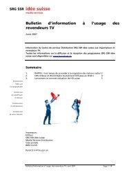 SRG SSR idée suisse
