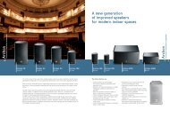 Archon P Archon P A new generation of improved speakers for ...