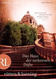 Das Haus der verlorenen Düfte - Aufbau Verlag