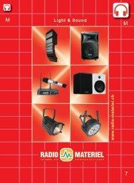 www .radio-materiel.ch Light & Sound - Radio Matériel