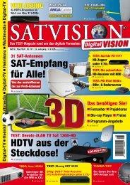 Das TEST-Magazin rund um das digitale Fernsehen