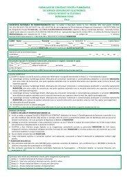 FORMULAR DE CONTRACT PENTRU FURNIZAREA ... - Radiocom