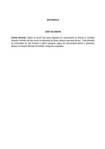 Caiet sarcini sistem de securizare.pdf - Radiocom