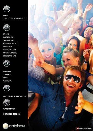 iPaul ANALOG AUDIOKRAFTWERK IQ-LINE ... - Audiodesign