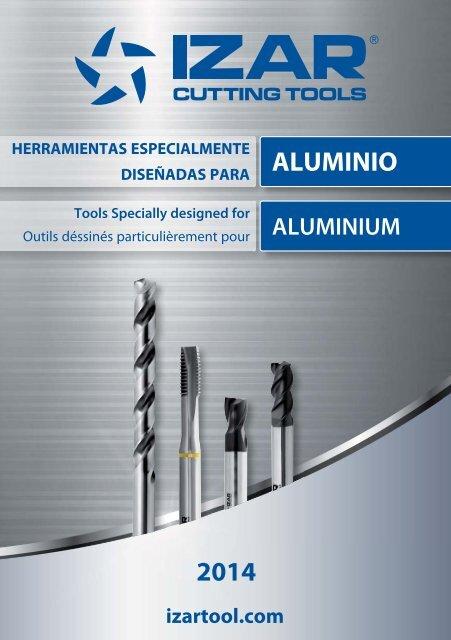 Fresa k10f w 1z aluminio altin 4,00 Izar 9419