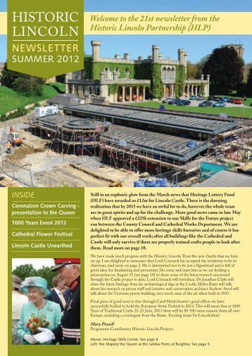 Historic Lincoln Newsletter 21 - Thedms.co.uk