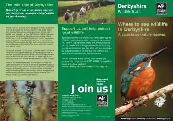 Derbyshire Wildlife Trust nature reserves - thedms