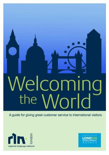 Welcoming the World - Customer Service - thedms