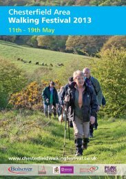 Chesterfield Area Walking Festival 2013 - thedms