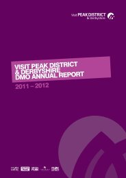 visit peak district & derbyshire dmo annual report ... - Thedms.co.uk