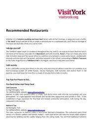 Recommended Restaurants - Thedms.co.uk